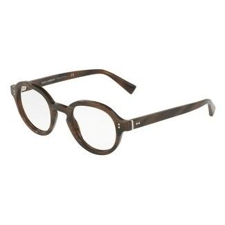 675214b0654 Shop Dolce   Gabbana Men s DG3271 3118 47 Striped Bordeaux Plastic  Eyeglasses - Free Shipping Today - Overstock.com - 18008340
