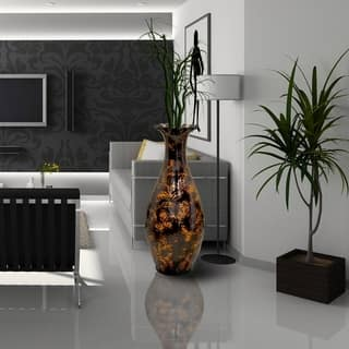 tall large extra floor vases feature glass vase furniture clear