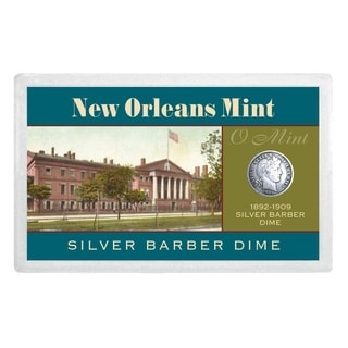 New Orleans Mint Silver Barber Dime Over 100 Years Old