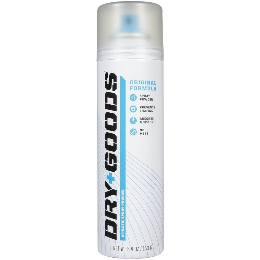Dry+goods Athletic Spray Powder (5.4 ounce Original), Sil...