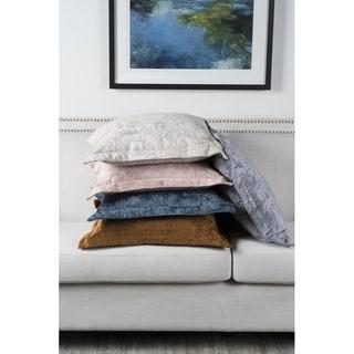Lapis Velvet 22-inch Square Pillow by Kosas Home