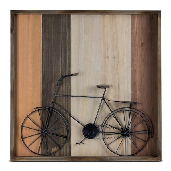 Metal Bicycle Shadow Box Farmhouse Wall Art Décor - Free Shipping ...