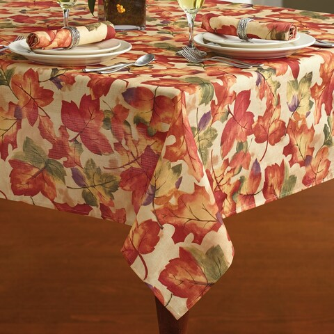 Harvest Fest Printed Fabric Harvest Tablecloth