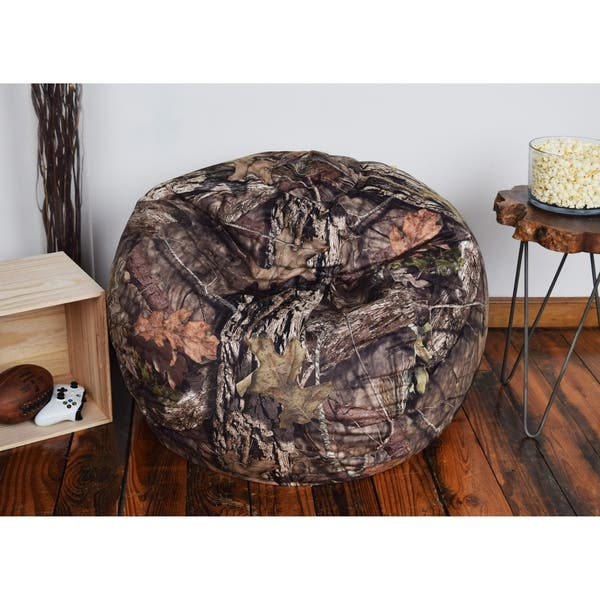 Fantastic Shop Mossy Oak Brown Bean Bag Xlarge Free Shipping Today Bralicious Painted Fabric Chair Ideas Braliciousco