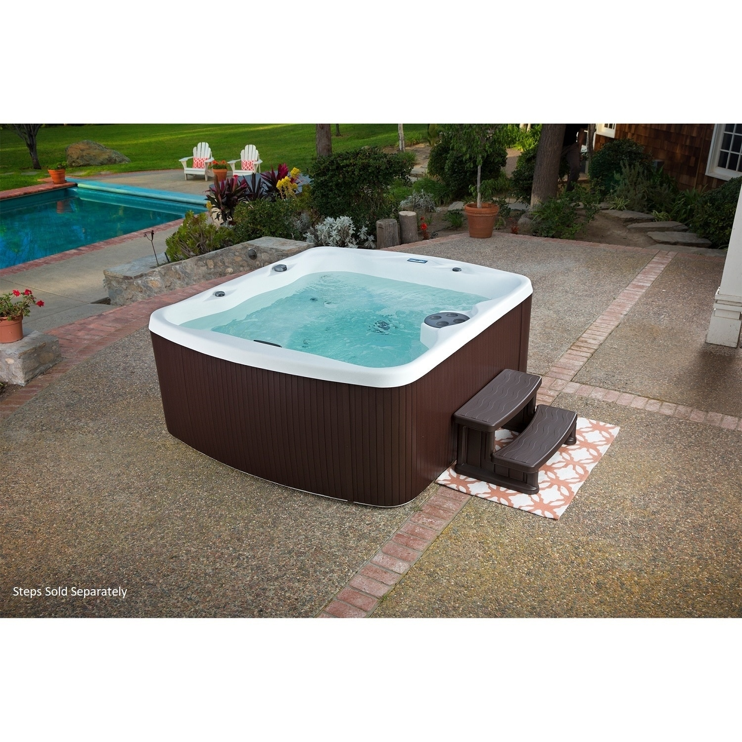LifeSmart Spas Lfiesmart LS550 Plus 5-person 45-jet Spa, ...