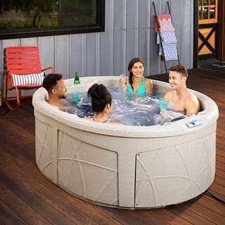 Lifesmart LS200DX 4-person 20-jet Spa|https://ak1.ostkcdn.com/images/products/18008800/P24178931.jpg?impolicy=medium