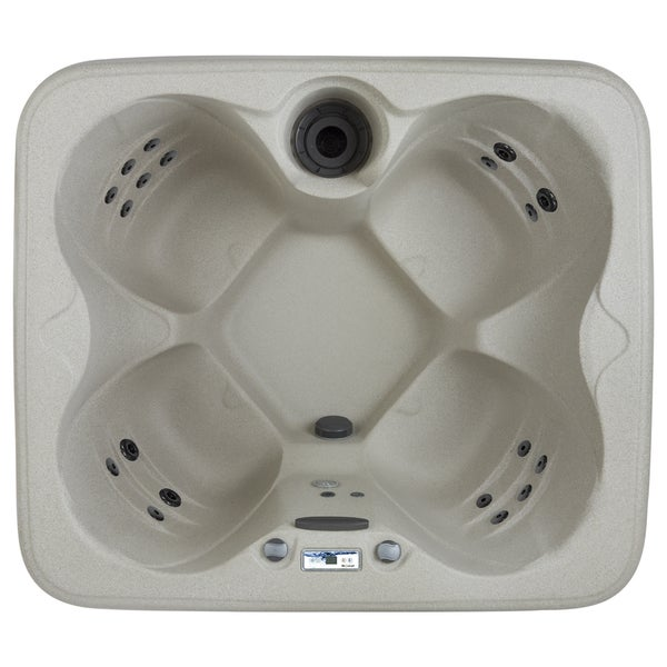 Lifesmart LS100DX 4-person 20-jet Spa - Free Shipping Today ...