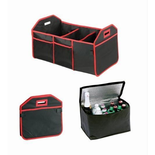 Trunk Caddy All-in-One Trunk Organizer with Hot and Cold Storage ...