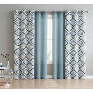 VCNY Home Jackston 4-pack Curtain Panel Set