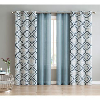 VCNY Home Jackston 4 Piece Curtain Panel Set