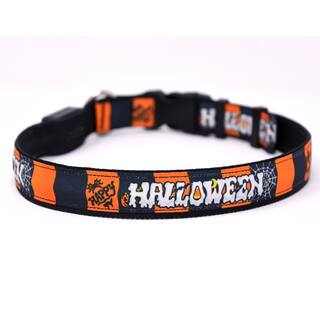Yellow Dog Orion LED Collar - Happy Halloween|https://ak1.ostkcdn.com/images/products/18010470/P24180440.jpg?impolicy=medium