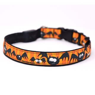 Yellow Dog Orion LED Collar - Dog Gone Batty