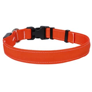 Yellow Dog Orion LED Collar - Solid Orange https://ak1.ostkcdn.com/images/products/18010496/P24180455.jpg?impolicy=medium