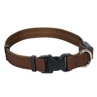 Yellow Dog Orion LED Collar - Solid Brown