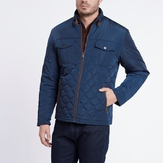 Light Weight Blue Quilted Jacket