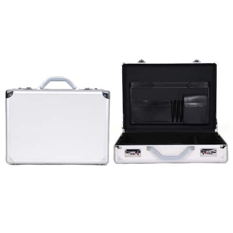 Heritage Travelware Aluminum 17.3-inch Laptop Attache Briefcase with Combination Lock