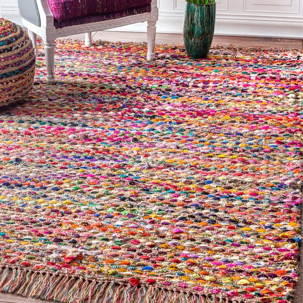 Shop NuLOOM Multi Contemporary Handmade Bohemian