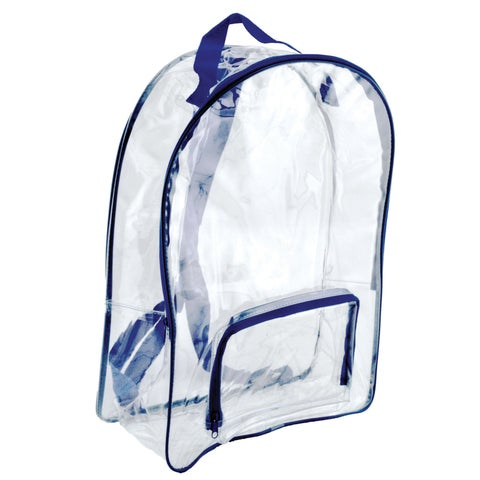 Bag of Bags Clear 17-inch Backpack