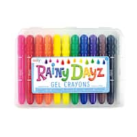 OOLY Rainy Dayz Gel Crayons (Pack of 2)