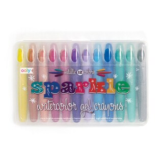 OOLY Sparkle Watercolor Gel Crayons (Pack of 2)