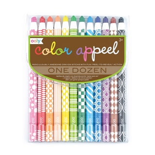 OOLY Color Appeel Crayons (Pack of 4)