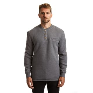 Stanley Men's Big and Tall Sherpa Lined Henley Thermal|https://ak1.ostkcdn.com/images/products/18010938/P24180842.jpg?impolicy=medium