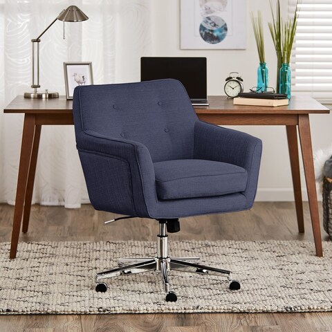 Serta Style Ashland Home Metal/Plywood Office Chair