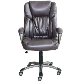 Serta Works Bonded Leather Executive Office Chair