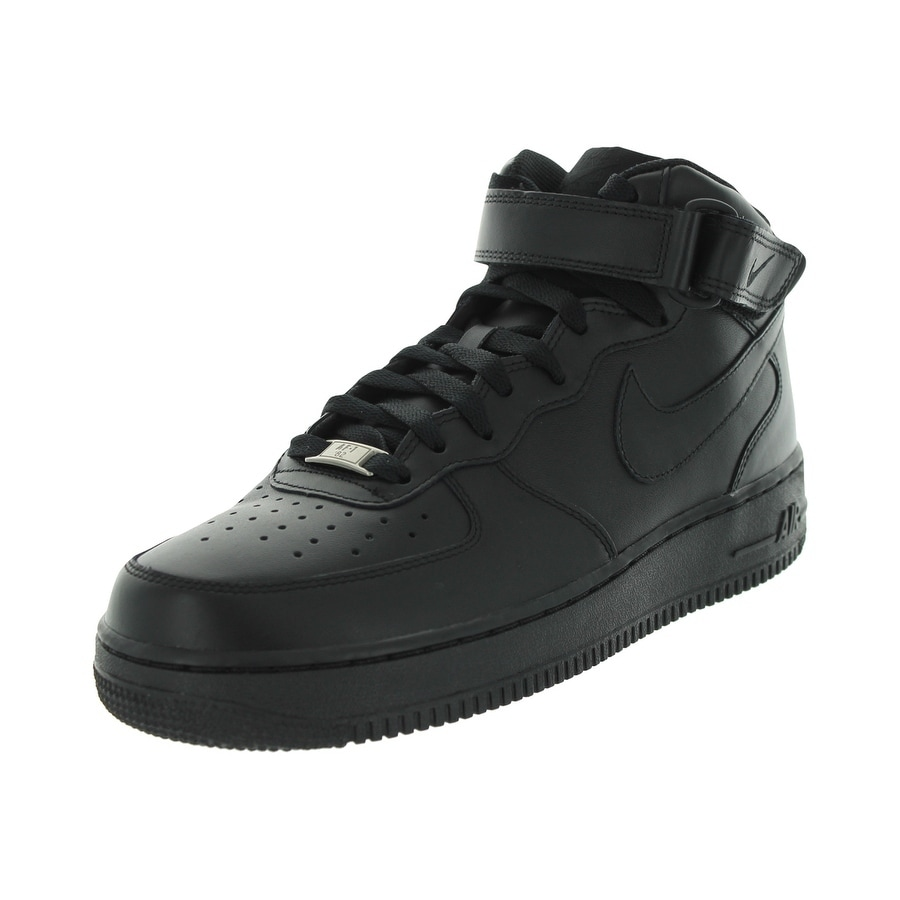 Nike Men's Air Force 1 Mid '07 Basketball Shoe (8), Black...
