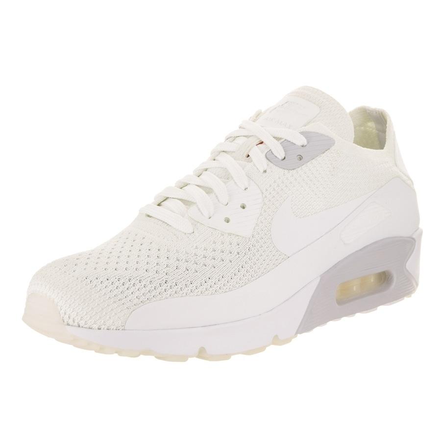 Nike Men's Air Max 90 Ultra 2.0 Flyknit Running Shoe (10)...