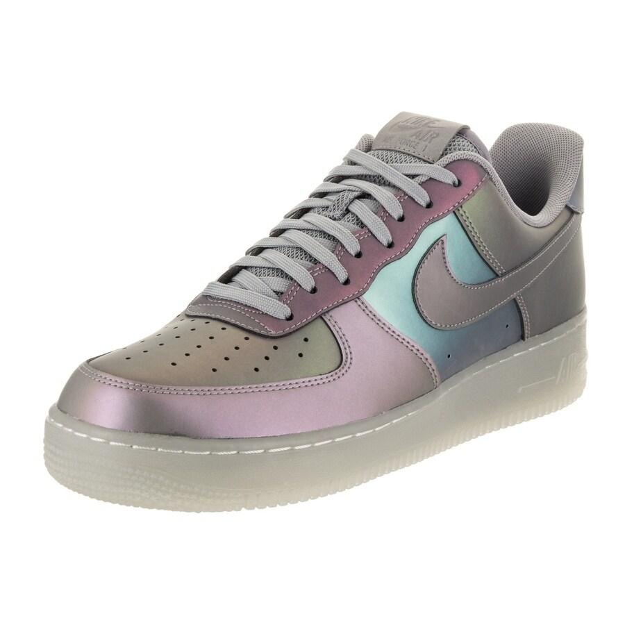 Nike Men's Air Force 1 '07 LV8 Basketball Shoe (11.5), Mu...
