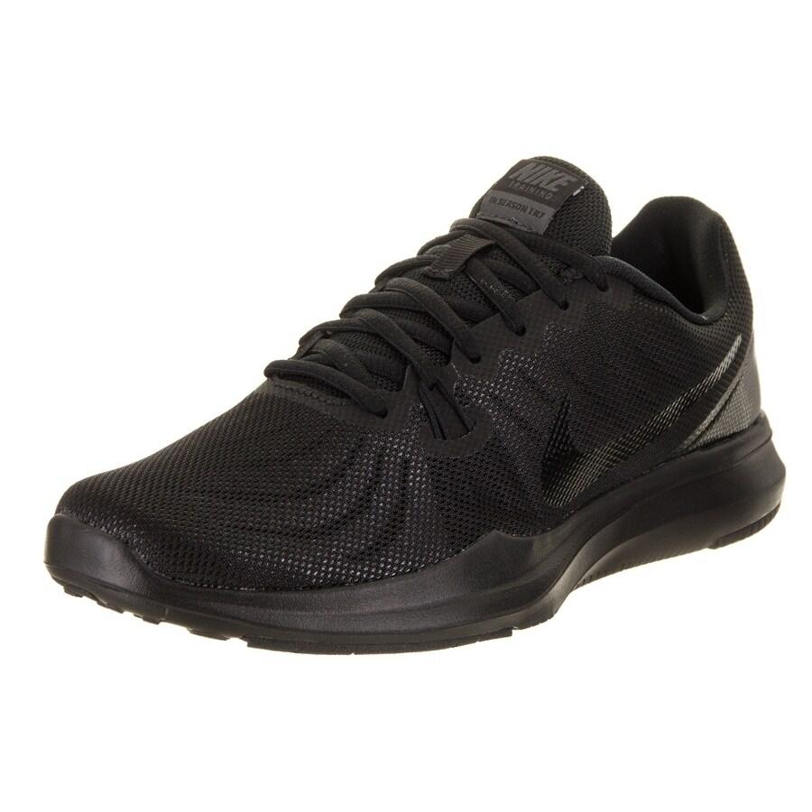 Nike Women's In-Season Tr 7 Training Shoe (6), Black (Syn...