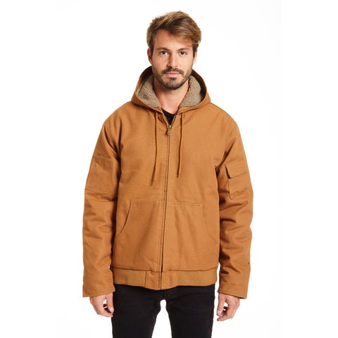Stanley Men's Big and Tall Sherpa Lined Hoodie Jacket