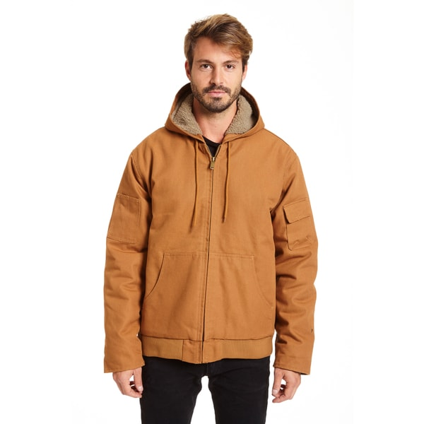 accf5ebae0690 Shop Stanley Men s Big and Tall Sherpa Lined Hoodie Jacket - Free ...