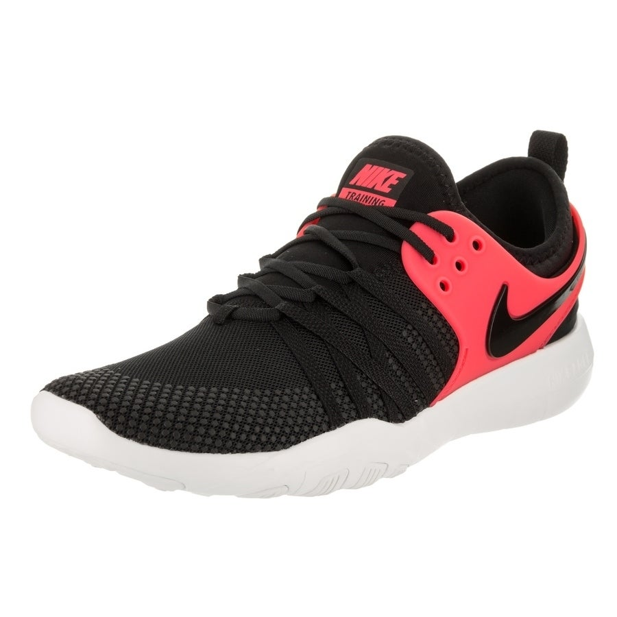 Nike Women's Free Tr 7 Training Shoe (7.5), Black (Synthe...