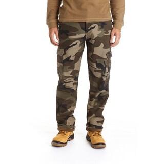 Stanley Men's Camo Print Fleece Lined Cargo Pant