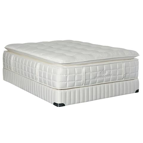 Kingsdown Vintage Elite Naraven 17-inch California King-size Pillow Top Luxury Mattress Set