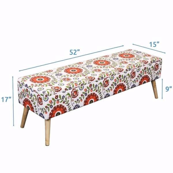 Terrific Shop Storage Ottoman Bench 52 Inch Easy Lift Top Upholstered Inzonedesignstudio Interior Chair Design Inzonedesignstudiocom