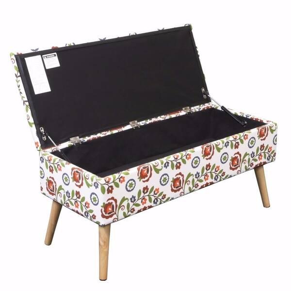 Cool Shop Storage Ottoman Bench 37 Inch Easy Lift Top Upholstered Inzonedesignstudio Interior Chair Design Inzonedesignstudiocom