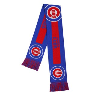 Chicago Cubs MLB Adult Big Logo Scarf
