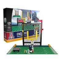 Arizona Wildcats NCAA End Zone Buildable Playset