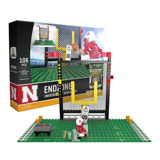 Nebraska Huskers NCAA End Zone Buildable Playset