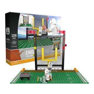 Texas Longhorns NCAA End Zone Buildable Playset