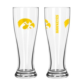Iowa Hawkeyes NCAA 2-Pack Gameday Pilsner Set