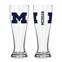 Michigan Wolverines NCAA 2-Pack Gameday Pilsner Set