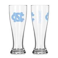 North Carolina Tar Heels NCAA 2-Pk Gameday Pilsner Set