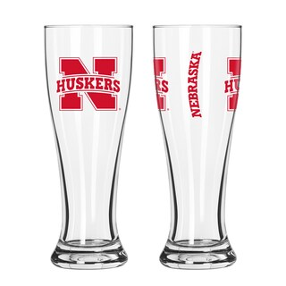 Nebraska Cornhuskers NCAA 2-Pack Gameday Pilsner Set