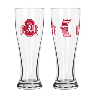 Ohio State Buckeyes NCAA 2-Pk Gameday Pilsner Set