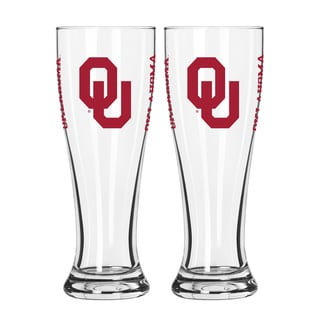 Oklahoma Sooners NCAA 2-Pack Gameday Pilsner Set