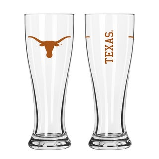 Texas Longhorns NCAA 2-Pack Gameday Pilsner Set
